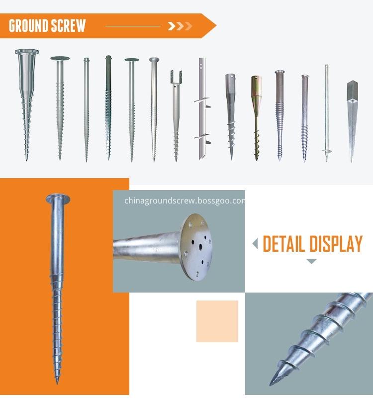 ground screw pile