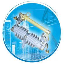 RW11-12 / 3 ~ 100 Isolador Fusível, 10 ~ 24kv, Fusível Fusível Link / Interruptor de ruptura Exterior Drop-out Tipo Fusível