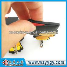 2D encantador collar etiqueta engomada del pvc gancho para estudiante de niños