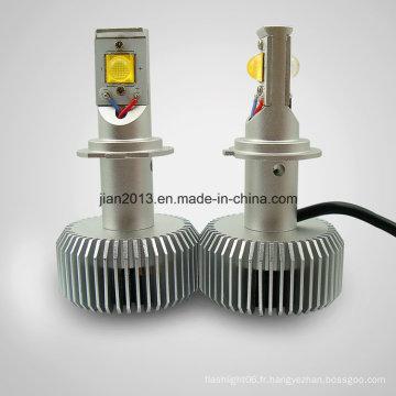 Phare LED H7 CREE 18*2W Blanc AC/DC8-28V