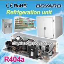 R404a kompressor de réfrigération commerciale pour l'équipement de chambre froide