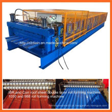Dx Double Layer Metal Roof Sheet Roll formando máquina