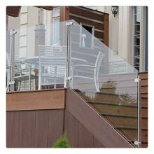 Vidrio laminado endurecido para barandilla de cubierta de balaustrada