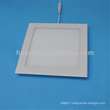 huerler manufacturing direction main product 4w/6w/9w/12w/15w/18w round/square shape square led ceiling lighting panel
