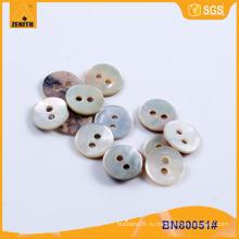 Естественная кнопка раковины Agoya реальная для рубашки BN80051