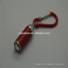 2015 novo mini lanterna elétrica conduzida keychain