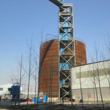 Cema/ASTM/DIN/Sha Standard Bucket Elevator Application in Cement Plant