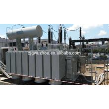 Transformateur de puissance à 3 phases de 115kV à 80 MVA avec prix