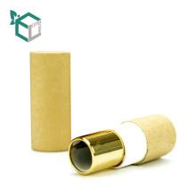 Oberer Capempty-Beschaffenheits-Papier-Schlag-Lippenstift-Rohr-Behälter mit Spiegel