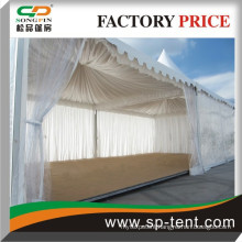 5x5m Songpin brand hot sale promotion clear pagoda tent with clear roof top walls and floor system