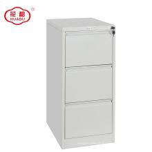 Luoyang Huadu modern design office steel 3 drawer filing cabinet for F4
