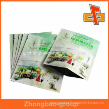 Customized small aluminum foil comstic sample sachet