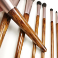 8PC Wooden Makeup Brush Set