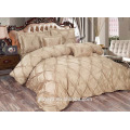 Hot sales! luxury wedding quilted bedspreads set /comforter set ,high quality