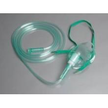 Masque médical d'oxygène médicaux à usage médical en PVC
