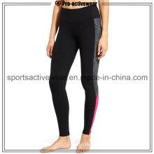 OEM Service Sublimation Sport Pants Tights Woman Fabric Yoga Leggings