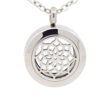 Fashionable 25mm 316l stainless steel perfume essential oil diffuser locket