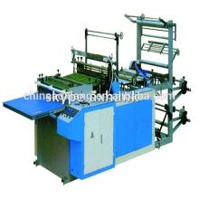Computer control rolling T-shirt & flat bag making machine zip lock bag making machine