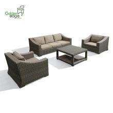 4шт алюминиевый гостиничный проект диван набор отдыха