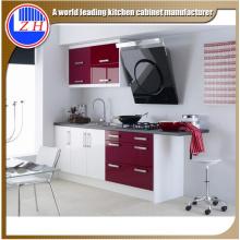 Muebles de cocina de MDF laminado brillante