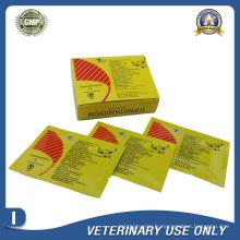 Médicaments vétérinaires d'Isometamidium Chloride Hydrochloride Injection 1g