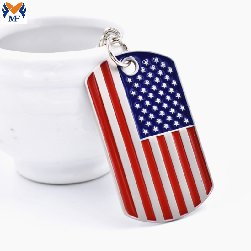 Country Flag Keychain