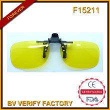 F15211 поляризацией объектив клип на очки флип стекло