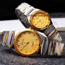 Waterproof Quartz Metal Wrist Watches for Men and Ladies
