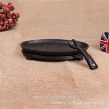 Bakeware de hierro fundido de 25 cm con mango extraíble