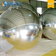 Centerpiece espejo del PVC del globo Disco inflable espejo Ball Decenas