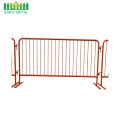 Portable Removable Peringatan Lalu Lintas Crowd Control Barrier