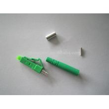 low Insertion loss lc upc apc simplex duplex connector for fibera cable meet Telecordia GR-326-CORE