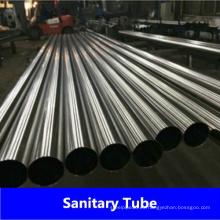 Tubo de lácteos soldados de acero inoxidable DIN11850 de fábrica de China