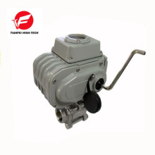 3 way water flow control valve 0-10v 4-20ma