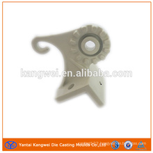 Die casting part with surface treatment