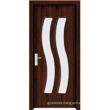 Interior Frosted Glass Bathroom Door (WX-PW-168)
