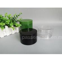 Black plástico boca larga frasco para embalagem de alimentos (PPC-84)