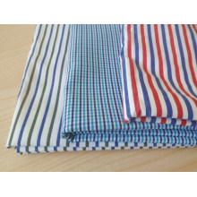 Streifen T-Shirt Stoff Garn gefärbt
