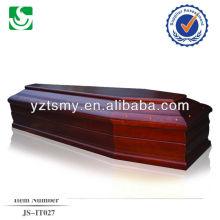 Style européen couleur rose cerise cercueil