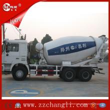 Caminhão leve do misturador concreto, caminhão móvel do misturador concreto