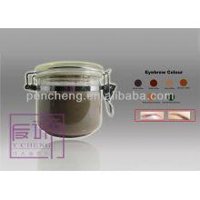 Tatuagem de pigmento tinta Sombra Light Brown-powder para OEM / ODM