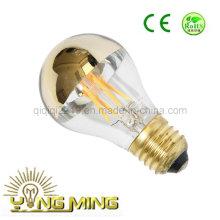 6.5W A60 Золотое зеркало E27 220V Светодиодная лампа