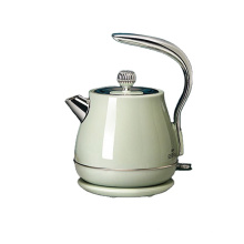Amazon Supplier 1.5L 1500W 304 Stainless Steel Retro Water Boiler Electric Kettle