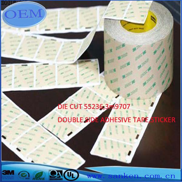 DIE CUT 55236,3m9707 DOUBLE SIDE ADHESIVE TAPE,STICKER