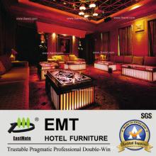 Sofá de lujo del sofá del club de noche KTV Sofá (EMT-KTV01)