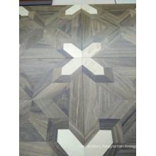 Luxurious High-End Parquet Brush Engineered Wood Flooring