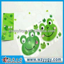 Etiqueta da moda para a decoração, adesivo de PVC personalizado novo