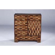Coffre à tiroirs en bois recyclé de haute qualité
