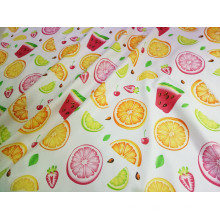 Textile 100% polyester différents types de tissu