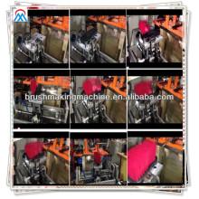 Meixin 2014 5 escobas calientes del eje o máquina de fabricación de cepillo para la venta